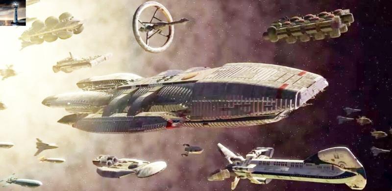 4 ярких фантастических фильма, в которых показаны мощнейшие космические битвы