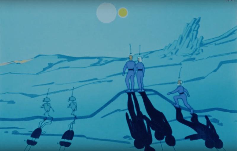 Лучшие советские фантастические мультфильмы