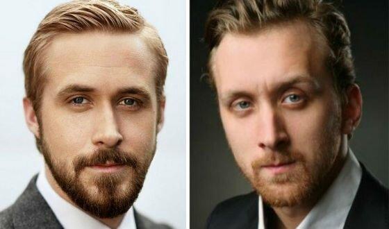 Гослинг - ты ли это? Российские актеры, которые похожи на голливудских как близнецы