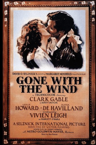 На роль Скарлетт О'Хара в фильме «Унесённые ветром» пробовалось 1400 актрис, а на роль Ретта Батлера кандидатов не было