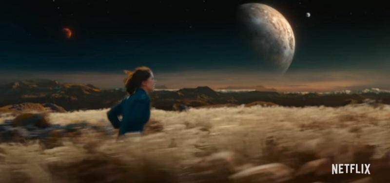 """Одинокий астроном и космический корабль на пути к Земле — трейлер драмы """"Полночное небо"""""""