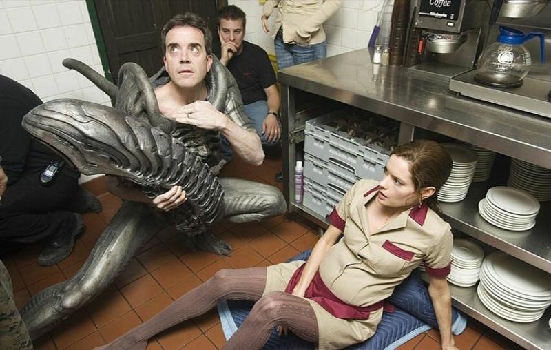 Без грима вы их не узнаете. Актеры играющие монстров в кино.