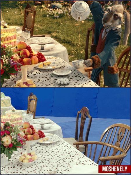 Топ 6 кадров со съемок, которые показывают, как бы выглядели фильмы Без спецэффектов