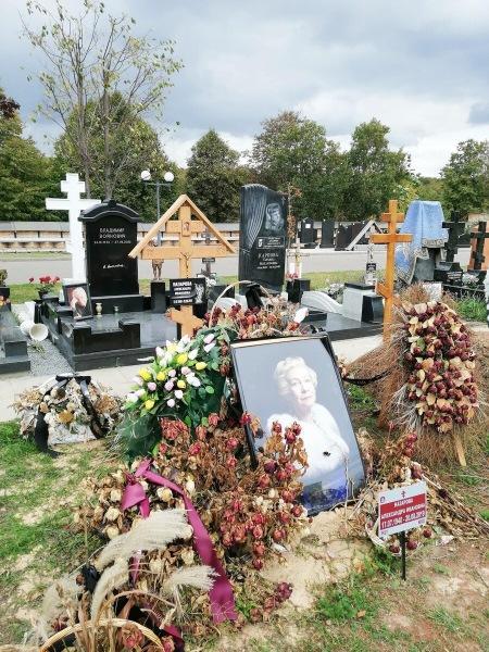 «Экскурсия» по Троекуровскому кладбищу: могилы известных актеров. Часть 4