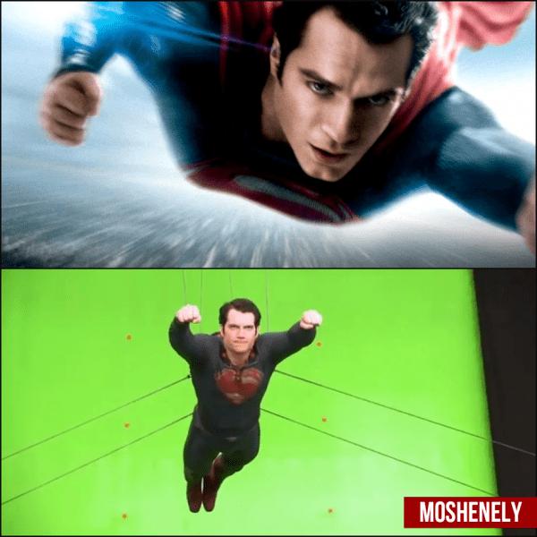 Топ 6 фото со съемочной площадки: Как выглядели знаменитые фильмы до обработки графикой?