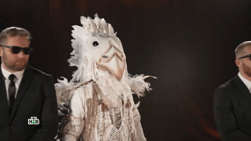 Белый орёл разоблачение | Шоу Маска на НТВ. Новый сезон